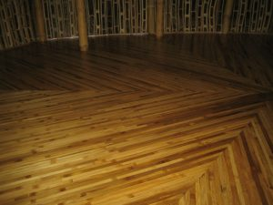 Green Village sanding and finishing of bamboo flooring with Tung Oil (after finishing)